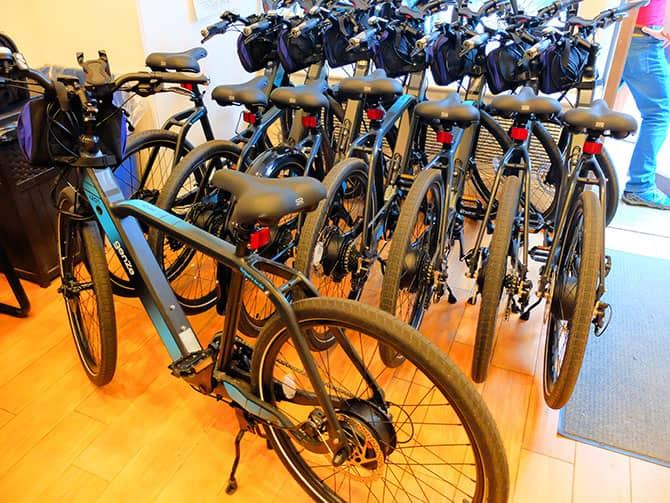 Tour in bicicletta elettrica a New York - Bici elettriche