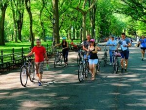 Tour in bicicletta elettrica a New York