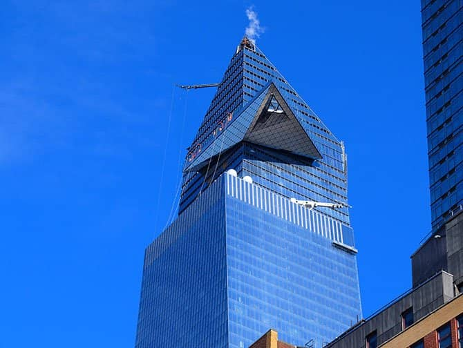 Hudson Yards a New York - Edge Observation Deck