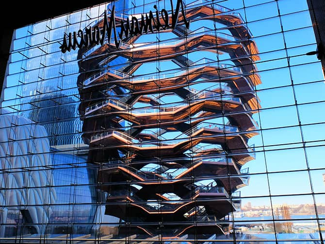 Hudson Yards a New York - Vessel