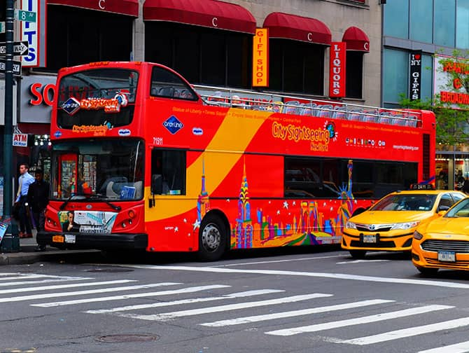 Differenza tra New York Sightseeing Flex Pass e Sightseeing Day Pass - Autobus hop on hop off