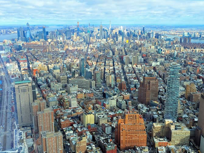 Differenza tra New York Sightseeing Flex Pass e Sightseeing Day Pass - One World Observatory