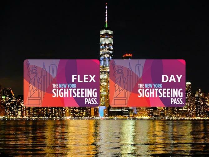 La differenza tra il New York Sightseeing Flex Pass e il Sightseeing Day Pass