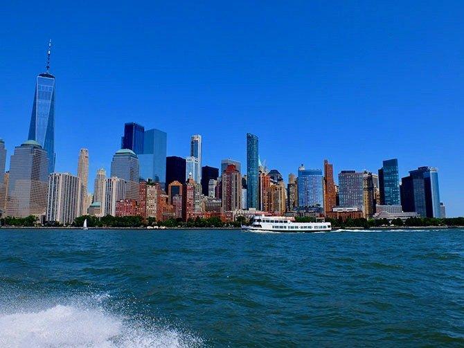 Giro in barca ad alta velocità a New York - Vista dalla barca