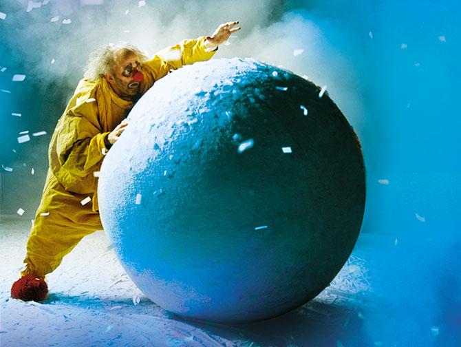 Spettacoli di Natale a New York - Slava's Snowshow
