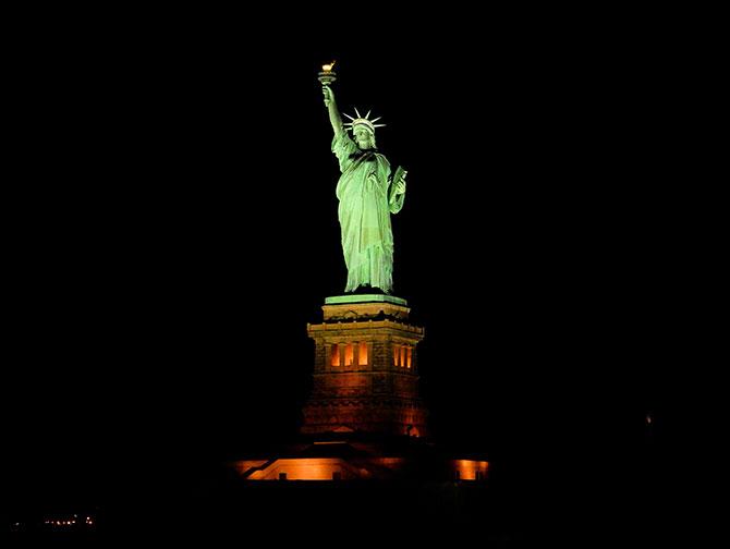 Crociera natalizia a New York - Statua della Libertà