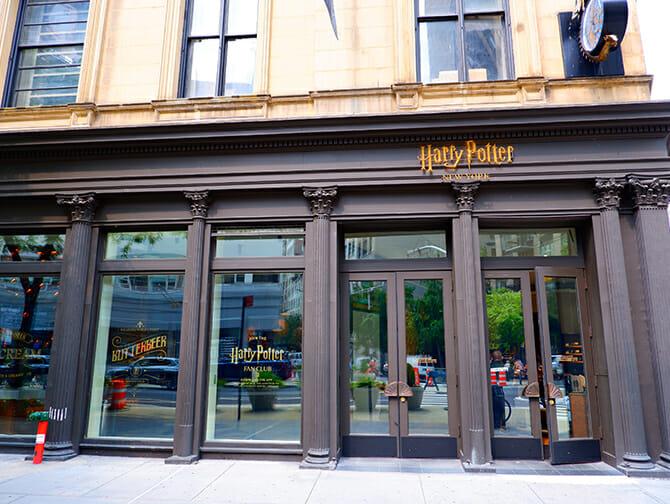 Il negozio di Harry Potter a New York