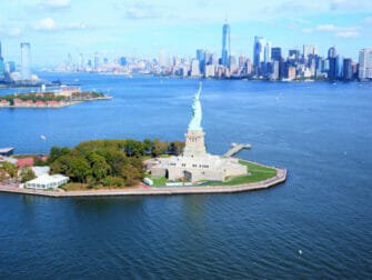 Giro in elicottero a New York - Statua della Libertà & Downtown