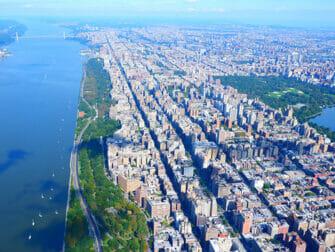 Giro in elicottero a New York- Vista di Central Park