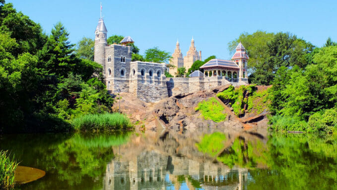 Belvedere Castle a Central Park – Zoom
