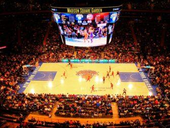 Biglietti dei New York Knicks Madison Square Garden