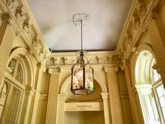 The Frick Collection a New York - Il soffitto