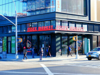 Lower East Side a New York - Essex Market