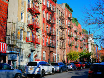Lower East Side a New York - Scale antincendio