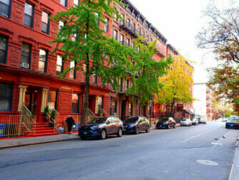 Hell's Kitchen a New York - Strada
