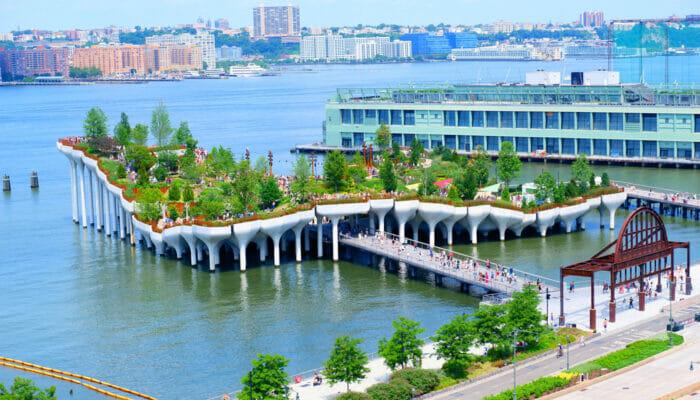 Little Island a New York - L'intera isola
