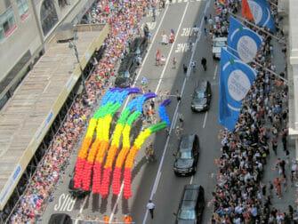 Gay Pride a New York - Arcobaleni