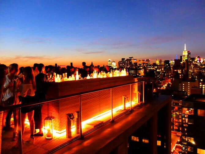 Vita notturna in Uptown o Downtown New York