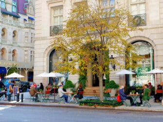 Shopping nell'Upper East Side a New York