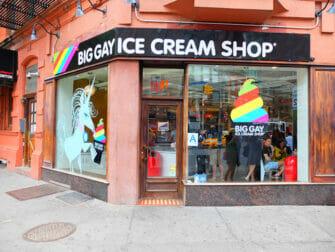 Il migliore gelato a New York - Big Gay Ice Cream Shop