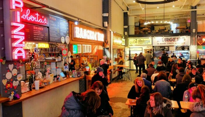 Pranzo a New York - Urbanspace