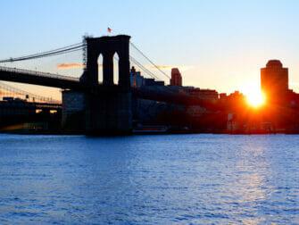South Street Seaport a New York - Ponte di Brooklyn