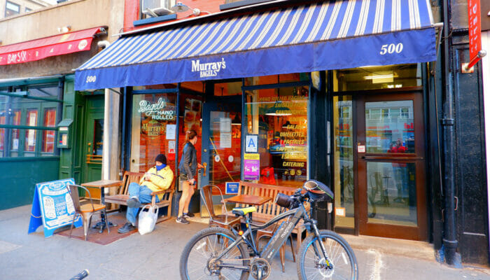 I migliori bar & bagel di New York - Murray's Bagels