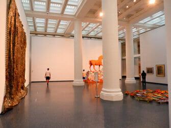 Brooklyn Museum a New York - All'interno del museo