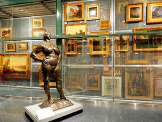 Brooklyn Museum a New York - Il Storage