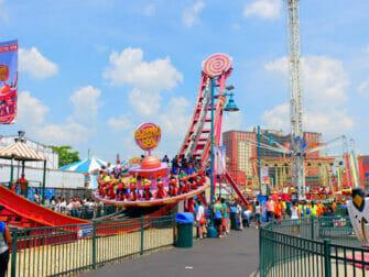 Biglietti per il Luna Park a Coney Island - Giro del parco di divertimenti