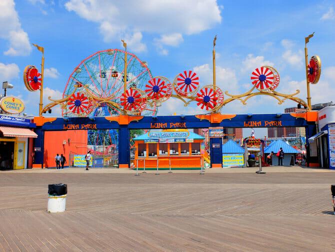 Biglietti per il Luna Park a Coney Island