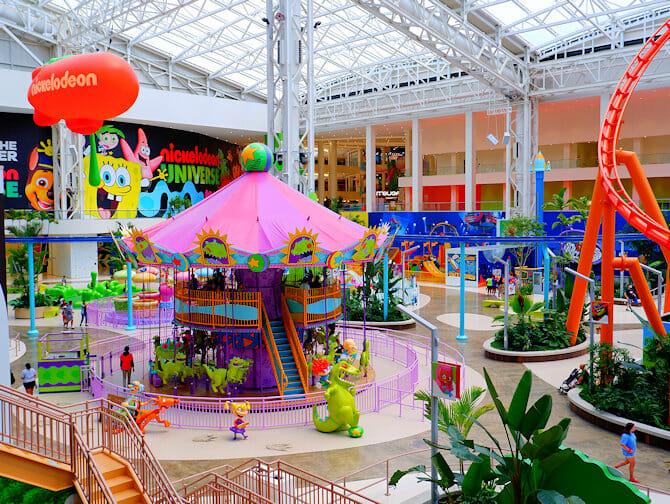 Biglietti per il Parco divertimenti Nickelodeon Universe vicino a New York