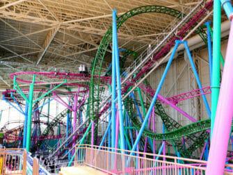 Biglietti per il Parco divertimenti Nickelodeon Universe vicino a New York - Montagne russa